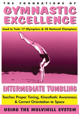 Gymnastics Series: Intermediate Tumbling DVD  -
