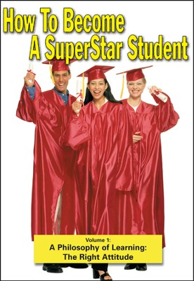Superstar Student: A Philosophy of Learning - The Right Attitude DVD  -