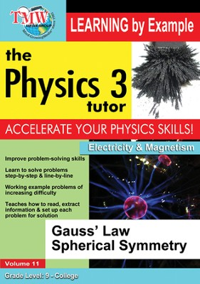 Gauss' Law Spherical Symmetry DVD  -