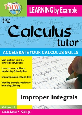 Calculus Tutor: Improper Integrals DVD  -