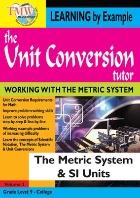 Unit Conversion Tutor: The Metric System and SI Units DVD  -