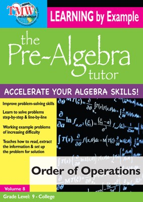 Order of Operations DVD  -