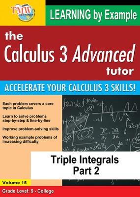 Triple Integrals Part 2 DVD  -
