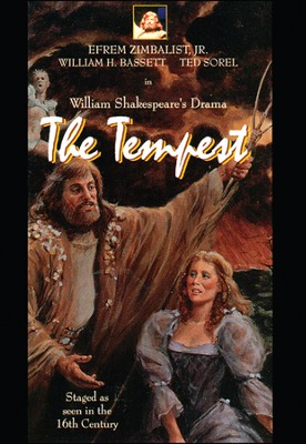 Shakespeare Series: Tempest DVD  -