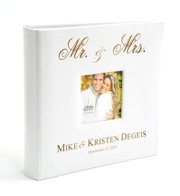 Personalized, Photo Album, Mr. & Mrs.   -