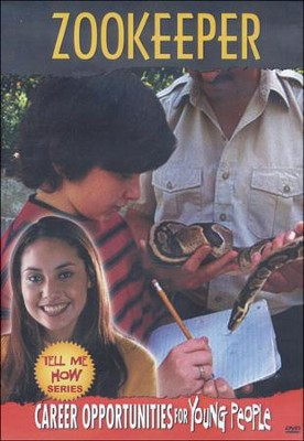 Tell Me How Career Series: Zookeeper DVD  -