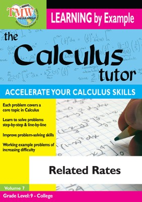Calculus Tutor: Related Rates DVD  -