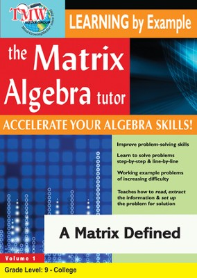 A Matrix Defined DVD  -