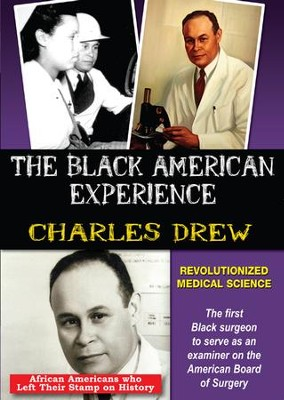 Charles Drew: Revolutionized Medical Science DVD  -