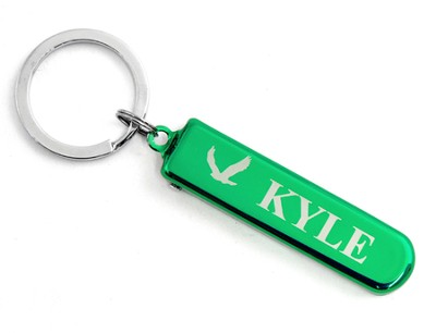 Personalized, Green Nail Clipper, With Eagle   -