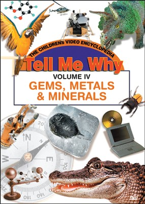 Tell Me Why: Gems, Metals and Minerals DVD  -