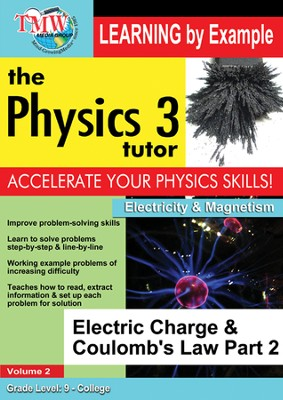 Electric Charge & Coulomb's Law Part 2 DVD  -