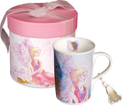 Three Angels Mug, Gift Boxed  -