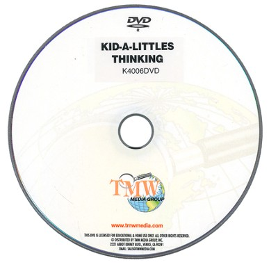Kid-a-Littles: Positive Thinking DVD  -