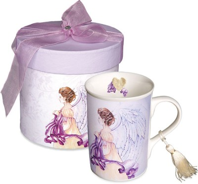 Angel Heart Mug, Gift Boxed  -