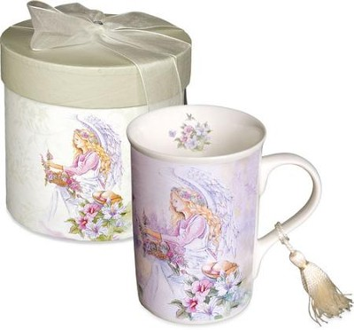 Garden Angel Mug, Gift Boxed  -