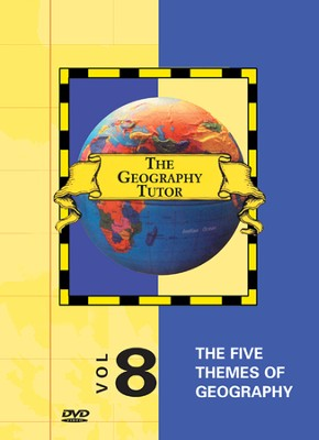 Geography Tutor: Five Themes of Geography DVD  -