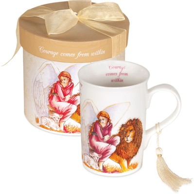 Angel of Courage Mug, Gift Boxed  -