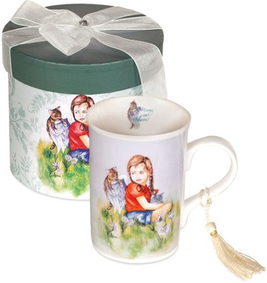 Angel and Child, Hang in There Mug, Gift Boxed  -