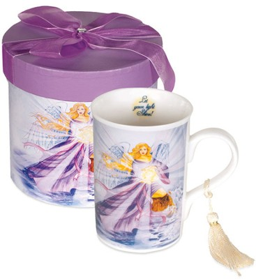 Let Your Light Shine Angel Mug, Gift Boxed  -