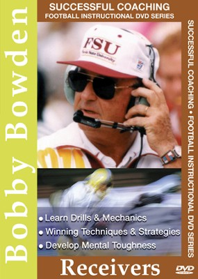 Bobby Bowden: Receivers DVD  -