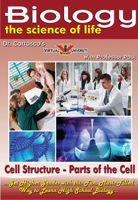 Cell Structure - Parts of the Cell DVD  -