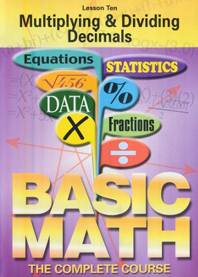Basic Math Series: Multiplying & Dividing Decimals DVD  -