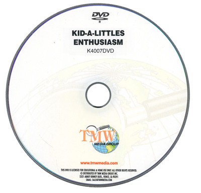 Kid-a-Littles: Enthusiasm DVD  -