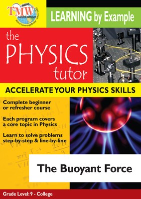 Physics Tutor: Buoyant Force DVD  -