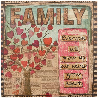 Family, Tree Wall Art  -