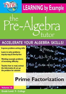 Prime Factorization DVD  -