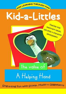 Kid-a-Littles: A Helping Hand DVD  -