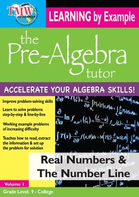 Real Numbers & The Number Line DVD  -