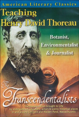 American Literary Classics - The Transcendentalists: Teaching Henry David Thoreau - Botanist, Environmentalist & Journalist DVD  -