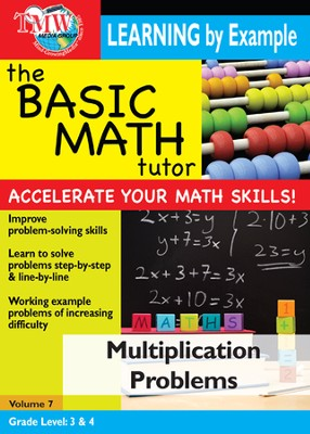 Basic Math Tutor: Multiplication Problems DVD  -