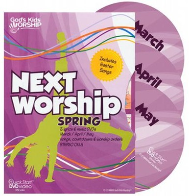Next Worship Spring Quarter (Mar-May)   -