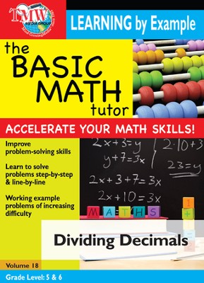 Basic Math Tutor: Dividing Decimals DVD  -
