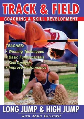 Track & Field: Long Jump & High Jump With John Gillespie DVD  -