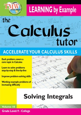 Calculus Tutor: Solving Integrals DVD  -