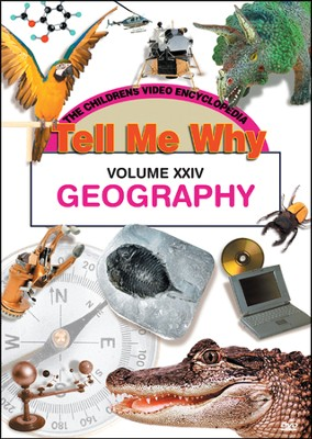 Tell Me Why: Geography DVD  -