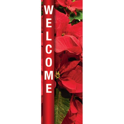 Welcome--Christmas Banner (2' x 6')  -