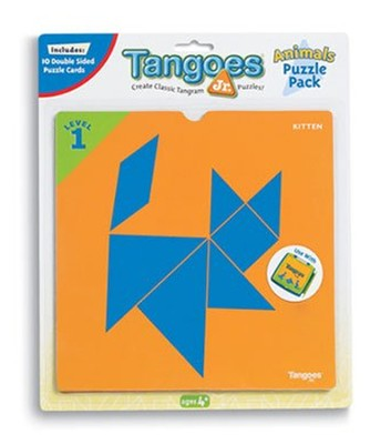 Tangoes Jr. Puzzle Pack - Animals  -