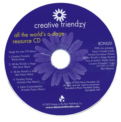 Creative Friendzy: All the World's a Stage Resource CD (Audio/CDROM)   -