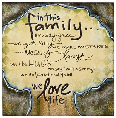 In This Family Framed Print  -
