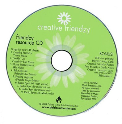 Friendzy: Resource CD (Audio/CD-ROM)  -