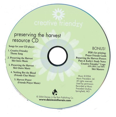 Preserving the Harvest: Resource CD (Audio/CDROM)  -