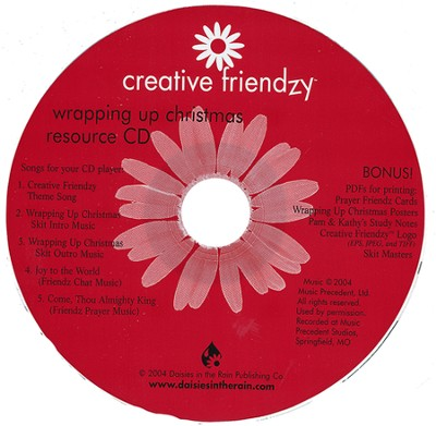 Creative Friendzy: Wrapping Up Christmas Resource CD (Audio/CDROM)   -
