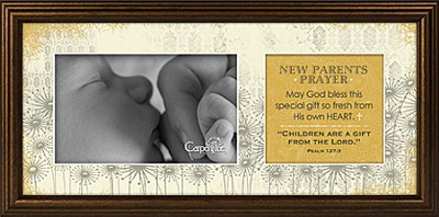 New Parents Prayer Framed Print  -