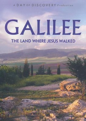 Galilee: The Land Where Jesus Walked - DVD  -