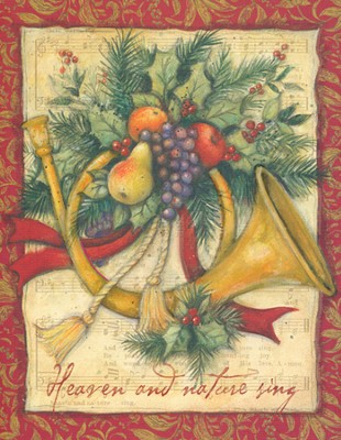 Heaven and Nature Sing Christmas Cards, Box of 18  -     By: Susan Winget
